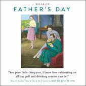 Funny Drama Queen Golf & Drinking Father's Day Greeting Card
