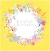 Pack of 5 Pretty Easter Greetings Cards