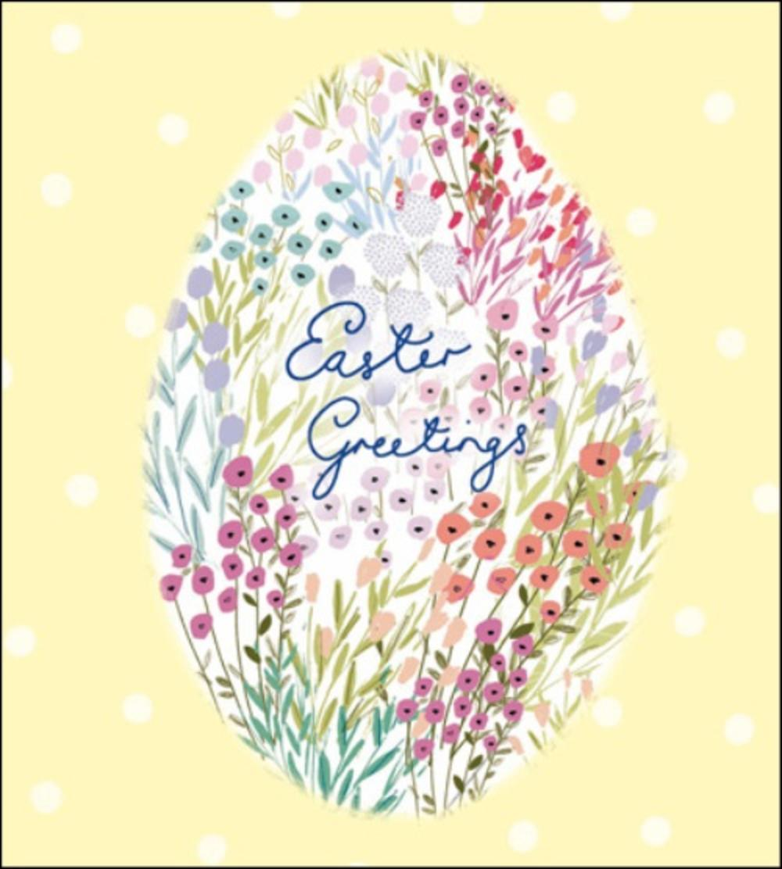 Pack of 5 Easter Joy Easter Greetings Cards