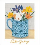 Pack of 5 Easter Pickings Easter Greetings Cards