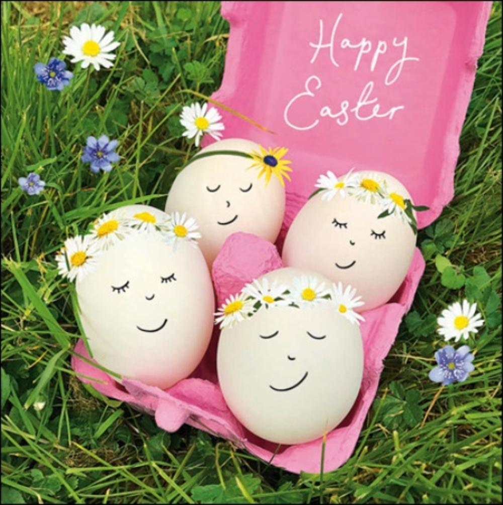 Eggcellent Easter Single Mini Happy Easter Greeting Card