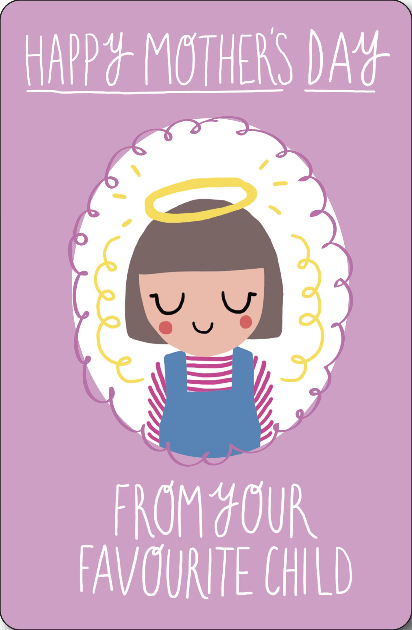 From Your Favourite Godson Mothers Day Card God Mother Mum