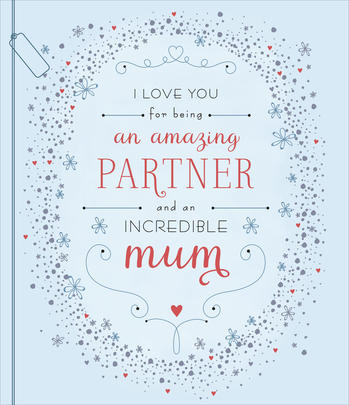 Amazing Partner Embellished Mother's Day Card