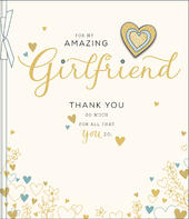 Amazing Girlfriend Embellished Mother's Day Card