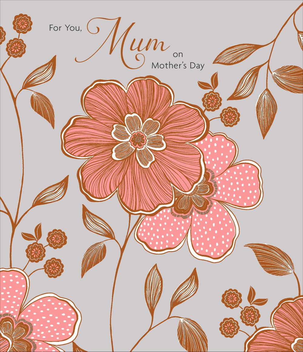 For You Mum Happy Mother's Day Card