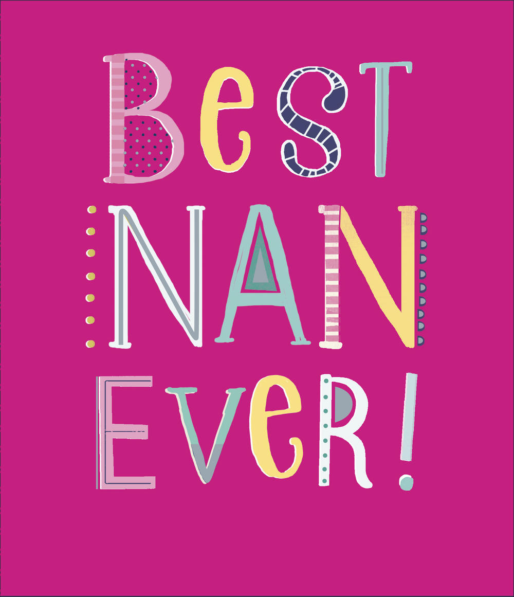 Best Nan Ever! Happy Mother's Day Card