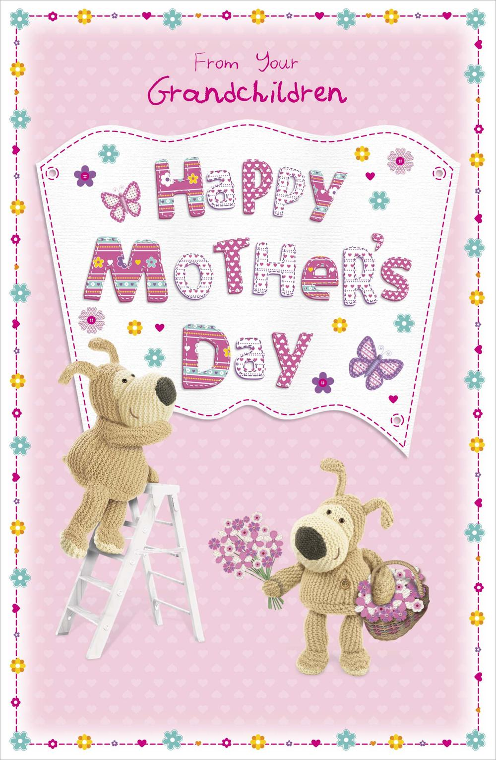 Boofle Love You Mum Happy Mother's Day Card