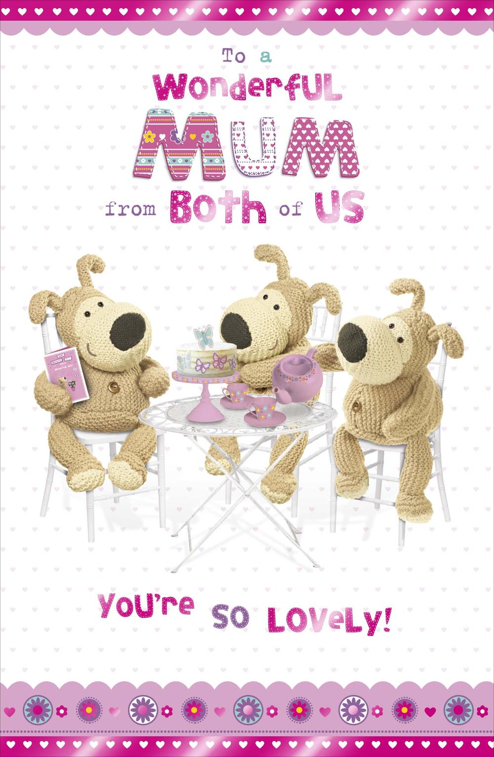 Boofle To Mum From Both Of Us Mother's Day Card