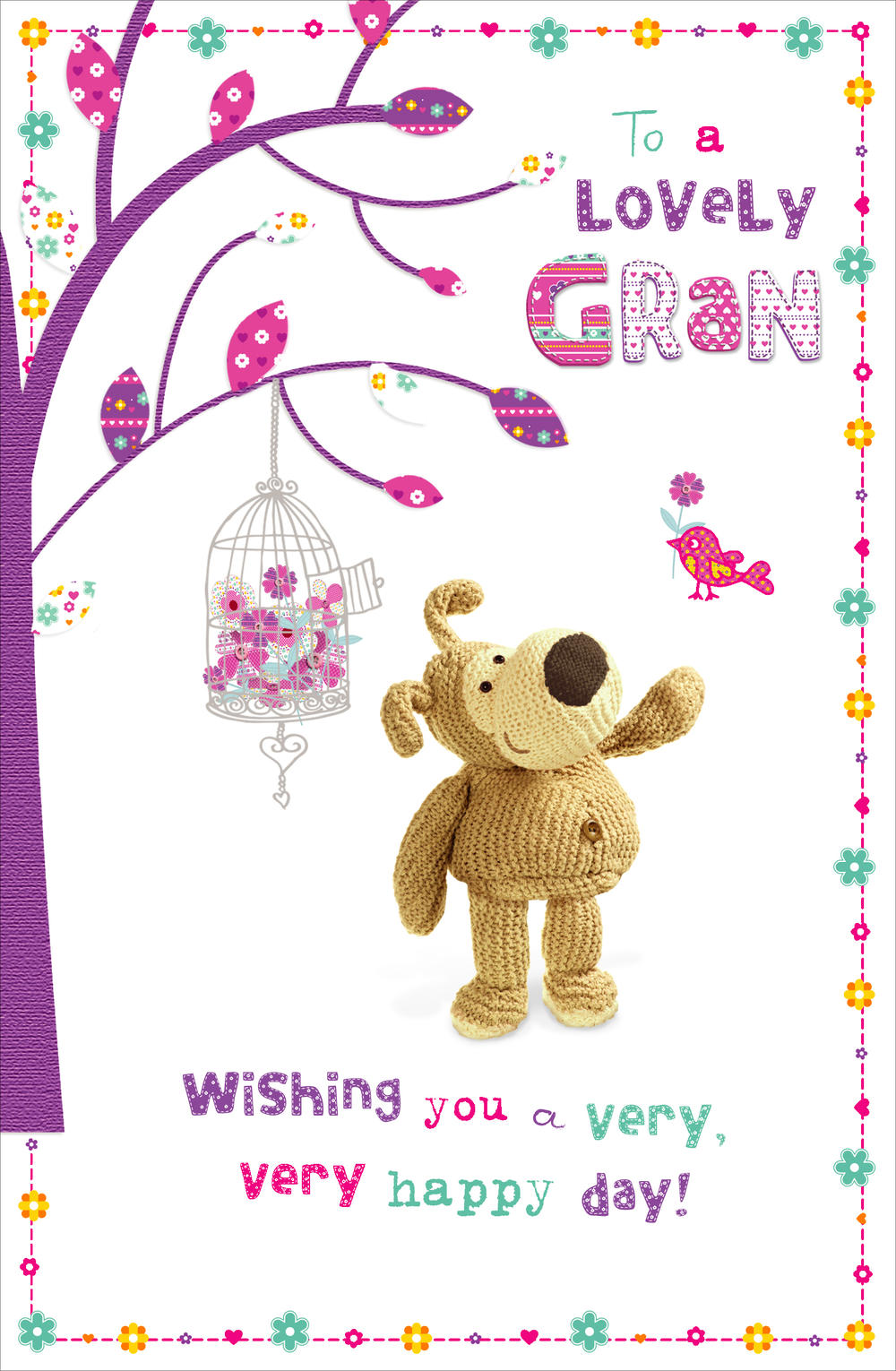 Boofle Lovely Gran Happy Mother's Day Card