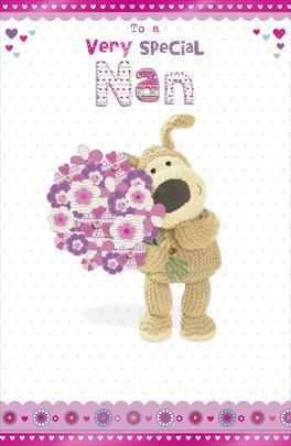 Boofle Special Nan Happy Mother's Day Card