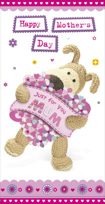 Boofle Just For You Mum Happy Mother's Day Card
