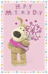 Boofle Mum In A Million Happy Mother's Day Card