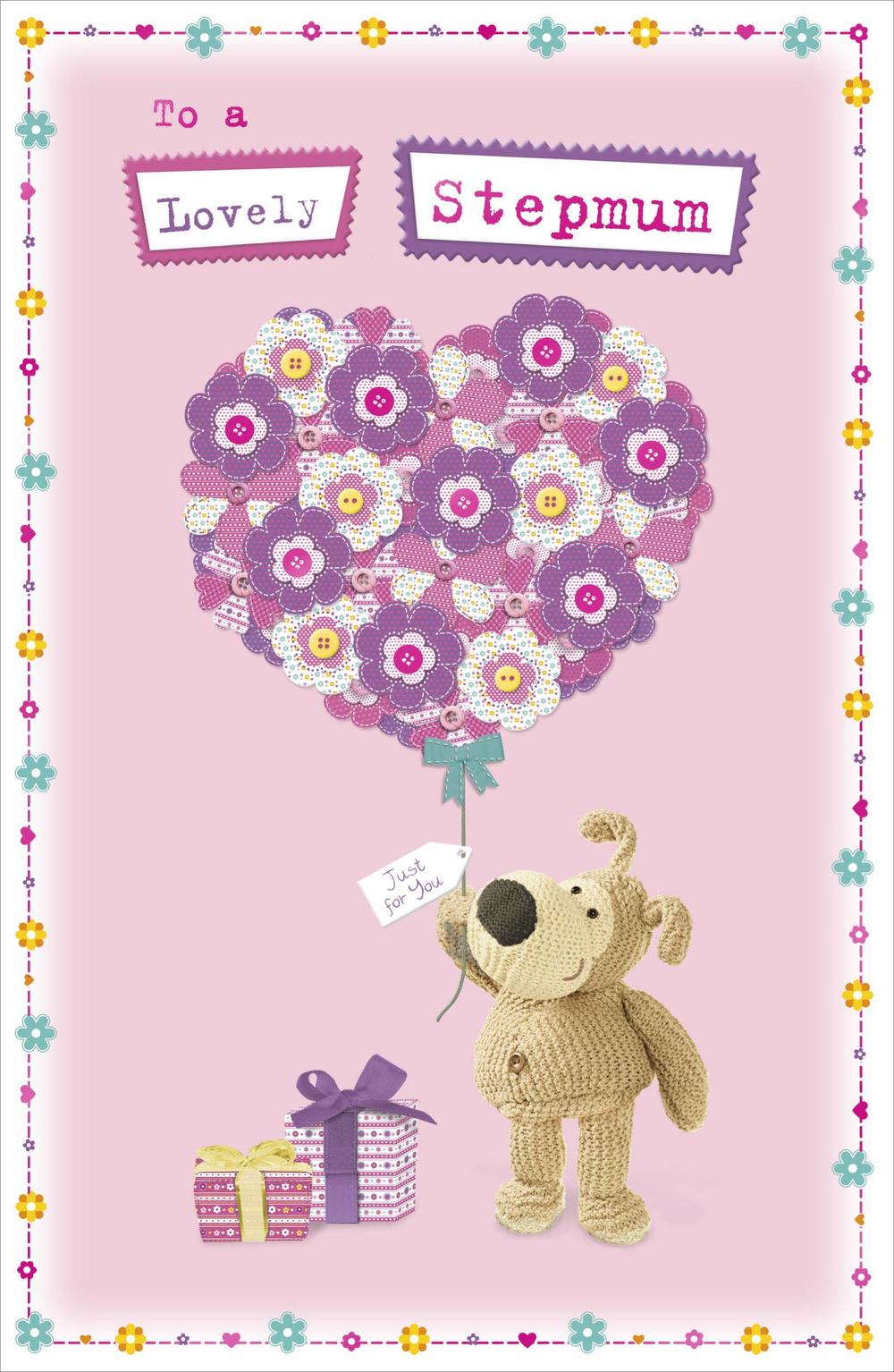 Boofle Lovely Stepmum Happy Mother's Day Card