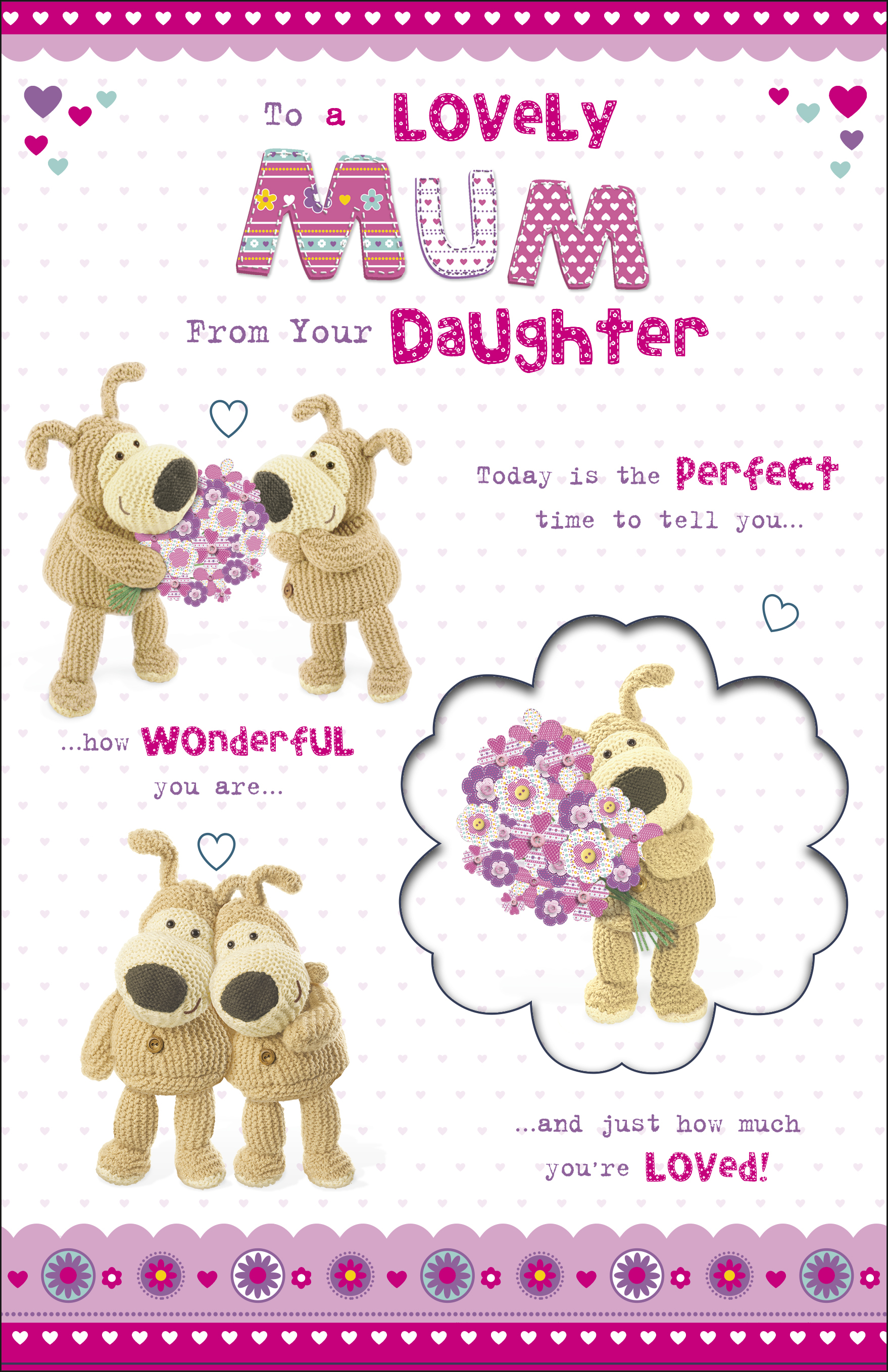 Boofle mum from daughter happy mothers day card cards love kates boofle mum from daughter happy mothers day card m4hsunfo