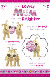 Boofle Mum From Daughter Happy Mother's Day Card