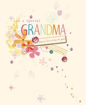 Special Grandma Happy Mother's Day Greeting Card