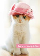 Avanti Mother's Day Cute Kitten Greeting Card