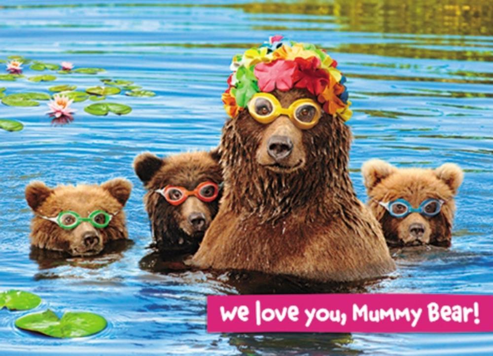 Avanti Love You Mummy Bear Mother's Day Photo Greeting Card