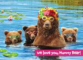 Avanti Love You Mummy Bear Mother's Day Photo Greeting Card