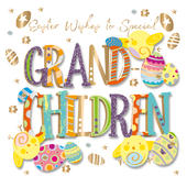 Special Grandchildren Easter Greeting Card