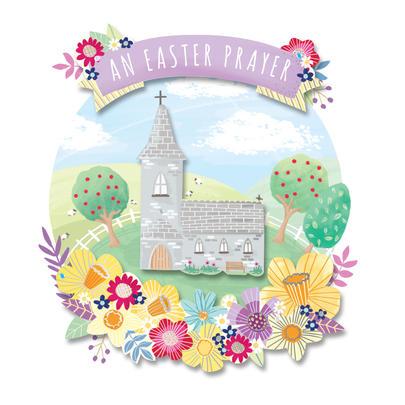 An Easter Prayer Easter Greeting Card