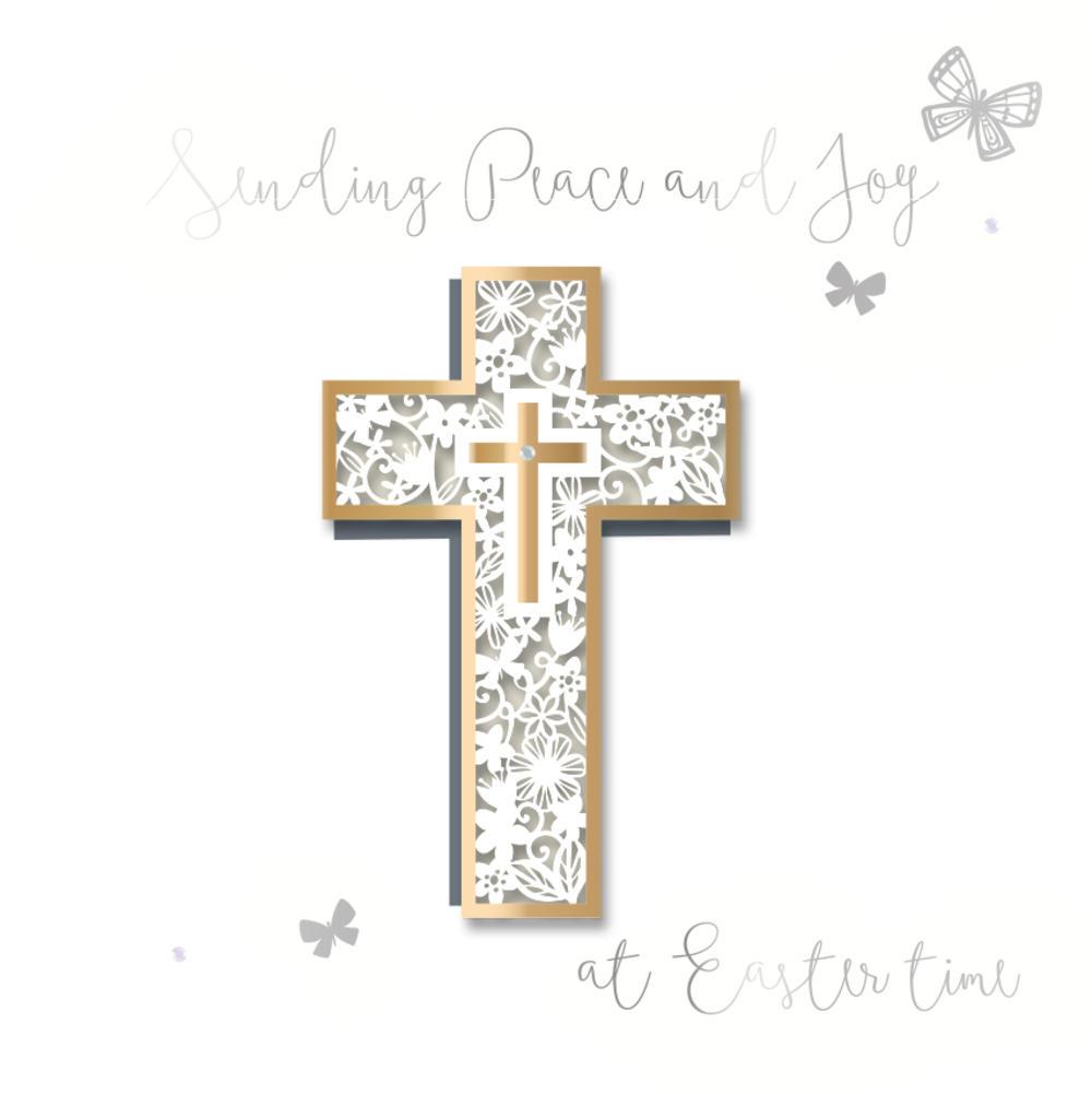 Sending Peace & Joy Easter Greeting Card