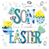 Special Son Easter Greeting Card