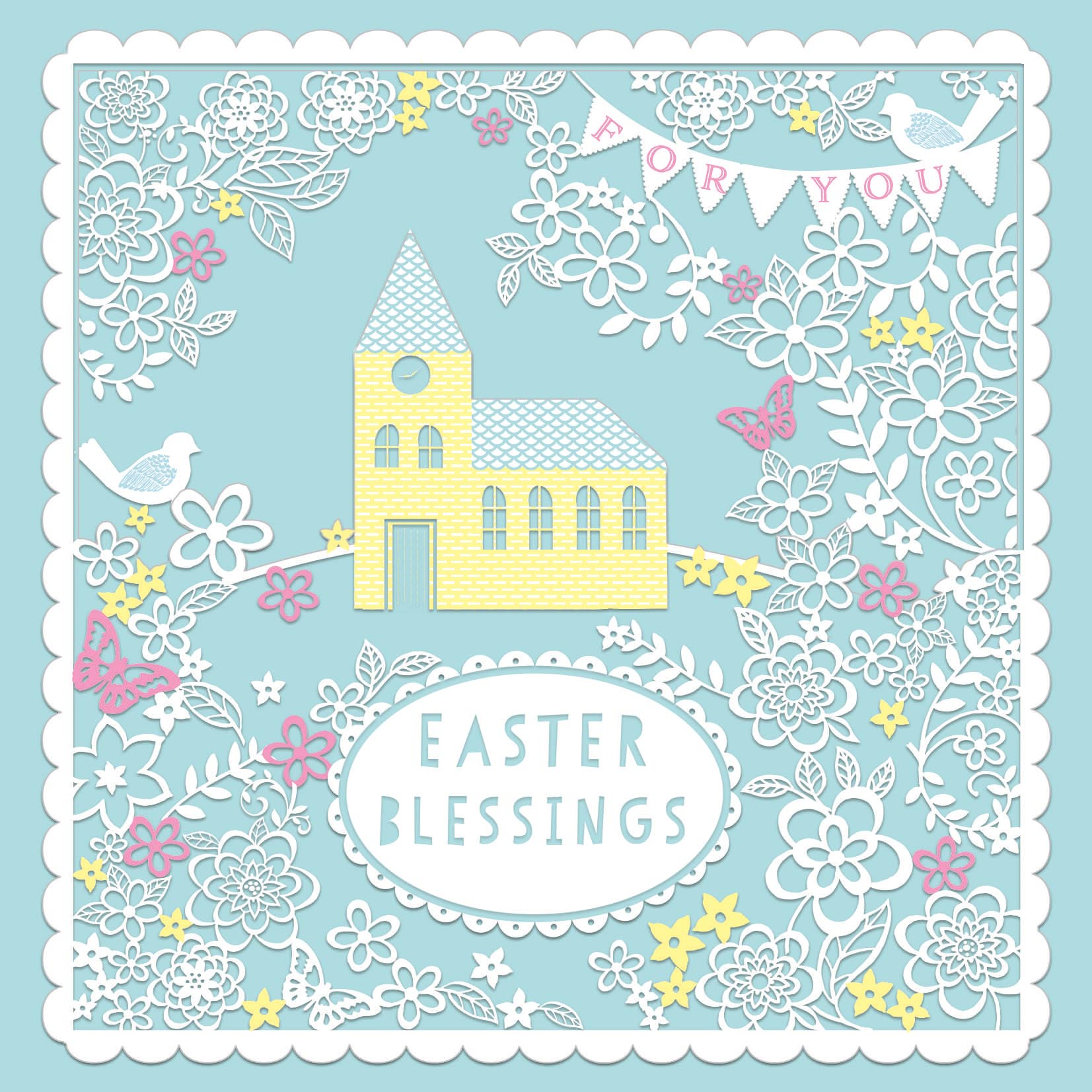 Pack of 4 british heart foundation charity easter greeting cards pack of 4 british heart foundation charity easter greeting cards m4hsunfo