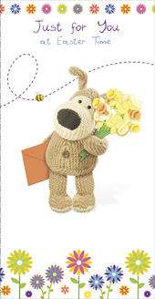 Boofle Just For You At Easter Greeting Card