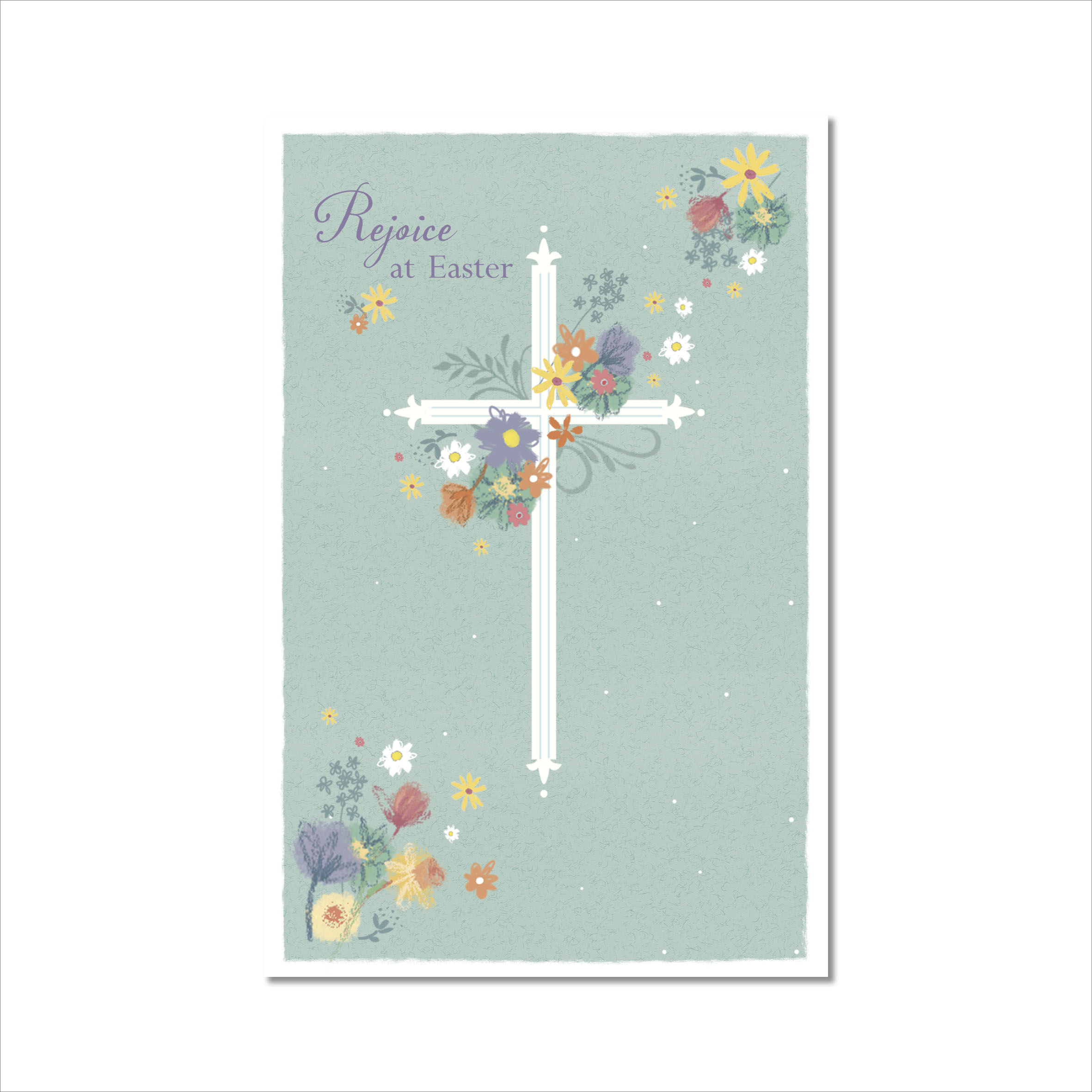 Pack Of 5 Religious Rejoice At Easter Greeting Cards Cards Love
