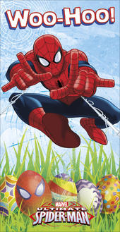 Spiderman Woo-Hoo Happy Easter Money Wallet Gift Card
