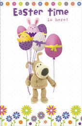 Boofle Easter Time Is Here Greeting Card