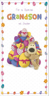 Boofle Special Grandson Easter Greeting Card