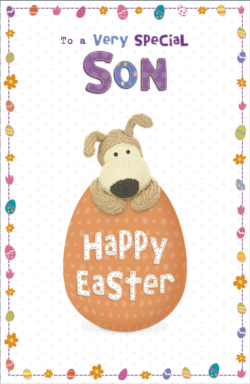 Boofle Special Son Easter Greeting Card