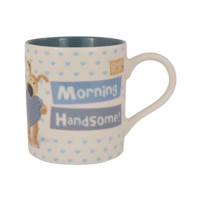 Boofle Morning Handsome China Mug In Gift Box
