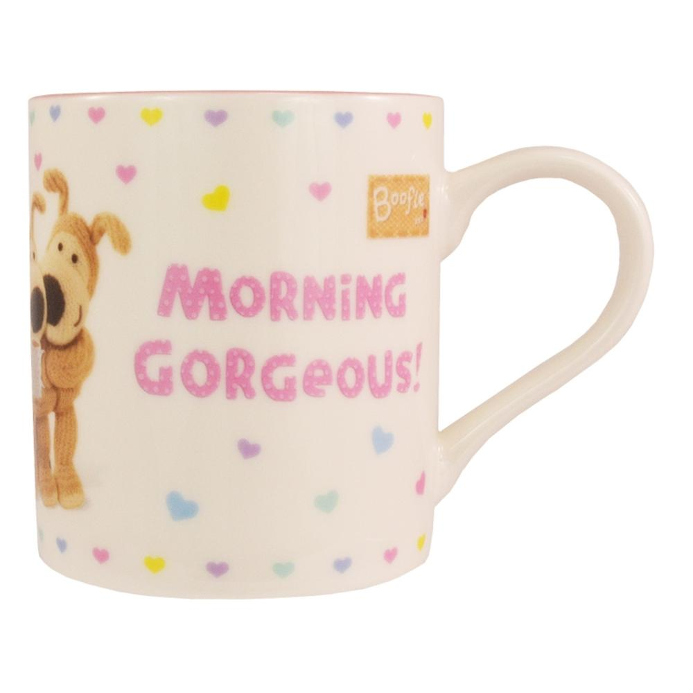 Boofle Morning Gorgeous China Mug In Gift Box