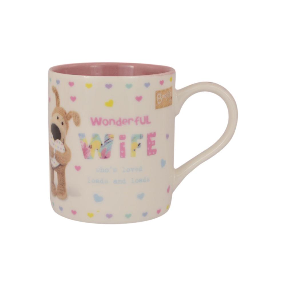 Boofle Wonderful Wife China Mug In Gift Box
