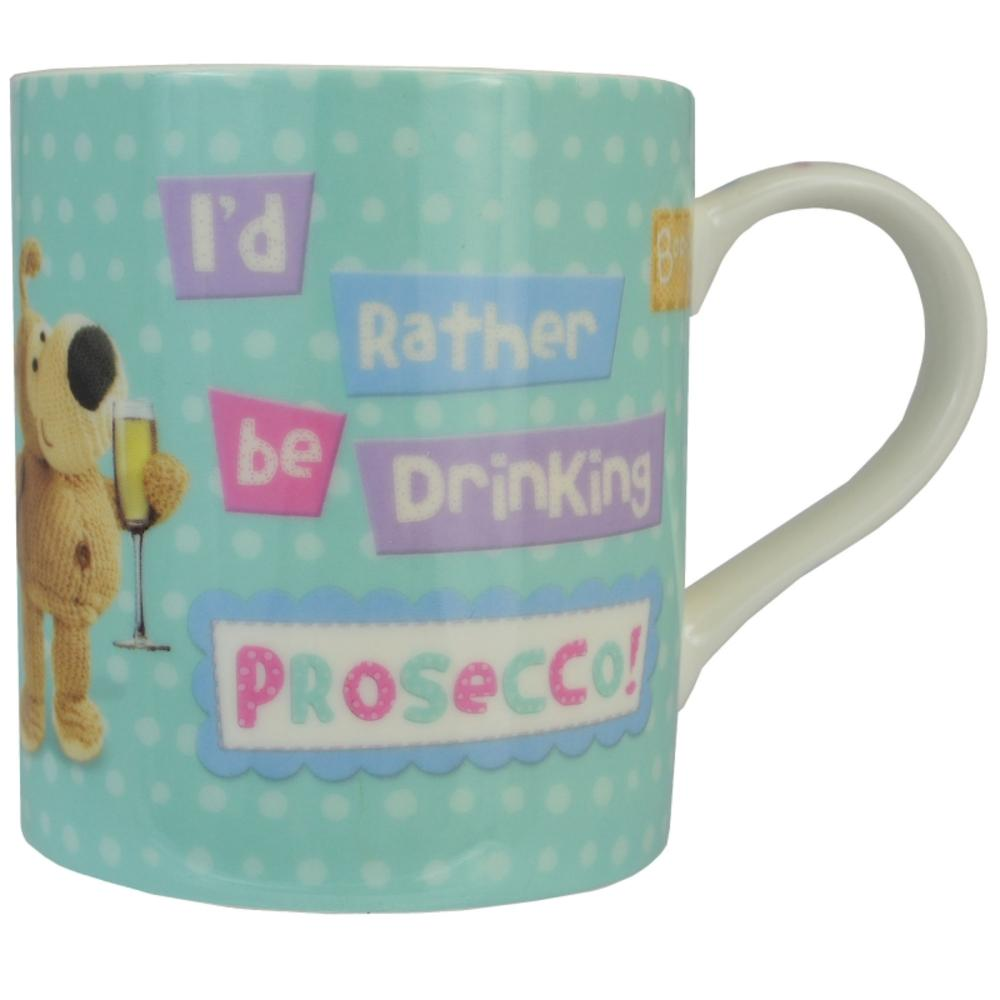 Boofle Rather Be Drinking Prosecco China Mug In Gift Box
