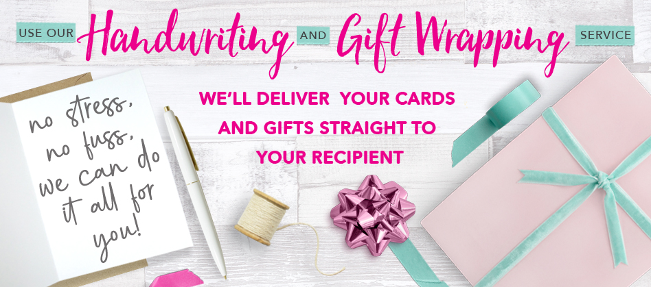 Handwriting and Giftwrapping