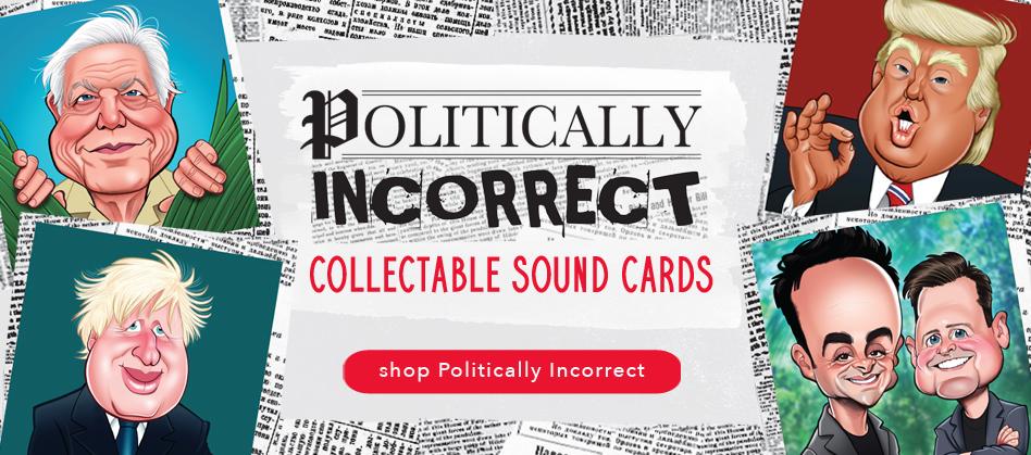 Politically Incorrect Sound Cards