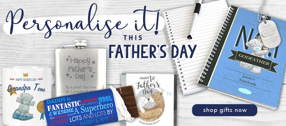 Father's Day Personalise It!