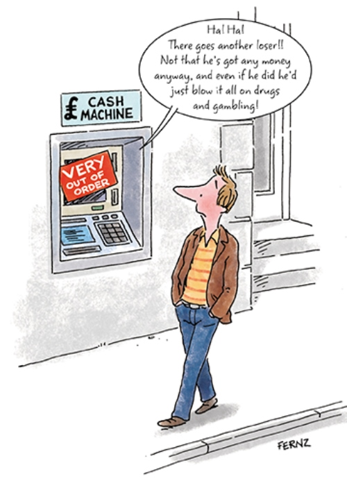 Cash Machine Out Of Order Funny Birthday Greeting Card Cards