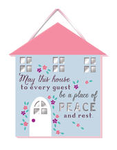 House Guest Hanging Plaque With Ribbon