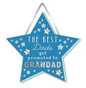 Grandad Hanging Plaque With Ribbon