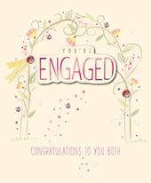 You're Engaged Embellished Engagement Greeting Card