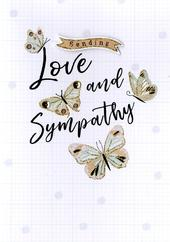 Sending Love & Sympathy Greeting Card