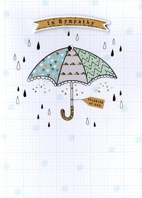 In Sympathy Simple Greeting Card