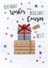 Cousin Birthday Greeting Card