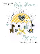 It's Your Baby Shower Irresistible Greeting Card