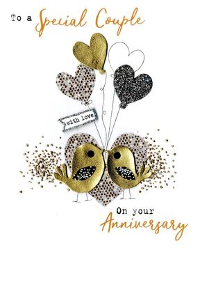 On Your Anniversary With Love Irresistible Greeting Card